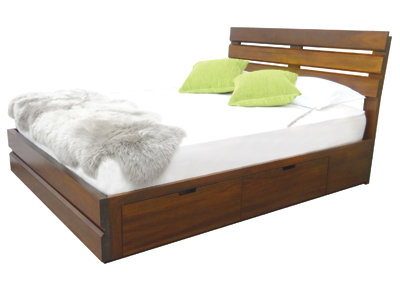solid wood beds and storage beds made in British Columbia, Canada
